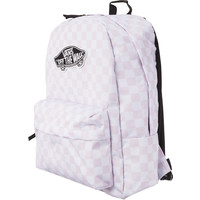 Plecak Vans REALM BACKPACK CHALK PINK C V00NZ0P2A CHALK PINK CHECKERBOARD