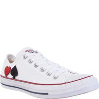 Converse M7652 RED AND BLACK HEART RBH7652RBH